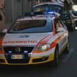 Automedica in azione ieri sera a Lavagna