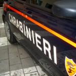 I carabinieri hanno arrestato l'uomo