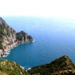 Uno scorcio dell'Area Marina di Portofino