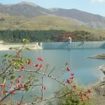Vento fortissimo sul lago di Giacopiane
