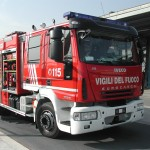 Sono intervenuti i Vigili del fuoco di Chiavari