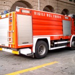 Sul posto vigili del fuoco e carabinieri