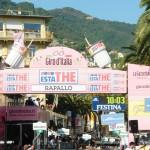 La tappa della tragedia arrivava a Rapallo
