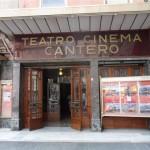 L'ingresso del cinema - teatro di piazza Matteotti
