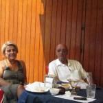 Il presidente Sivori insieme a Zonfrillo