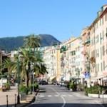 Il lungomare di Ghiaia a Santa Margherita