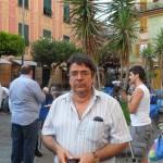 Il sindaco di Lavagna, Giuliano Vaccarezza