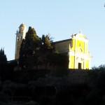 La chiesa santuario di San Giorgio a Portofino