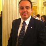 Il consigliere di opposizione Marco Conti