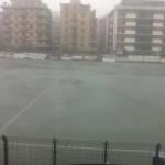 Lo stadio Macera di Rapallo