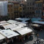 Il mercato ortofrutticolo di piazza Mazzini