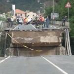 Il crollo del ponte sullo Sturla dell'ottobre scorso