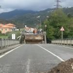 Il crollo del ponte sullo Sturla il 22 ottobre