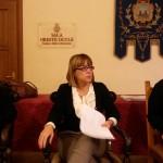 Il sindaco di Sestri Levante, Valentina Ghio