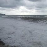 La mareggiata dei giorni scorsi