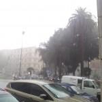 Pioggia intensa questa mattina nel Tigullio