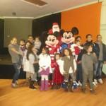 Un momento della festa con i bambini