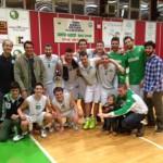 Foto di gruppo per il Centro Basket Sestri Levante