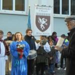 Umberto Ricci parla ai bambini delle scuole