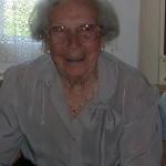 La signora Dina Parlanti, vedova Lamera