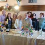 La festa per i cento anni di Dina Parlanti