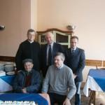 Foto di gruppo per Burlando e Cuneo