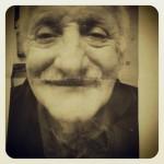 Una fotografia dell'anziano scomparso