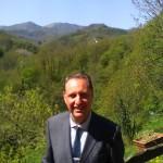 Il candidato sindaco, Riccardo Bottino