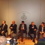 I cinque candidati a confronto a Lavagna
