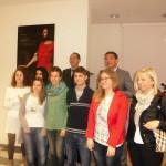 Foto di gruppo per gli studenti stagisti