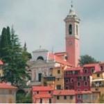 Il capoluogo di Castiglione Chiavarese