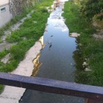 Il torrente Rupinaro a Chiavari