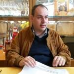 Marco Conti è anche consigliere comunale