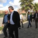 A sinistra l'imprenditore Gabriele Volpi