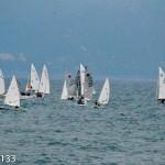 Lo spettacolo delle regate nel mare di Chiavari