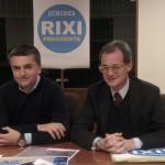 Matteo Rosso, nella foto con Edoardo Rixi