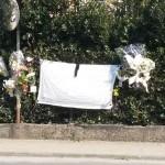 Il luogo del tragico incidente a Lavagna