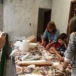 I bambini e il lavoro di un mulino (repertorio)