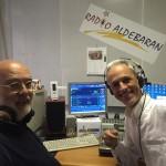 Antonio Gozzi nel nostro studio con Salvo Agosta