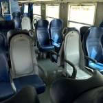 Viaggio movimentato in treno