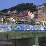 Il ponte di Sori in versione estiva