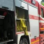 I vigili del fuoco hanno recuperato donna e auto