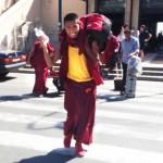 Monaci tibetani ai Casali di Stibiveri (Borzonasca)
