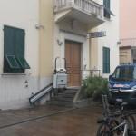 La stazione dei carabinieri di Lavagna