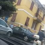 L'incidente di via Santa Chiara a Chiavari