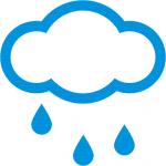 Non sono buone oggi le previsioni del tempo
