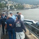 Provvidenziale l'intervento della Polizia municipale di Rapallo