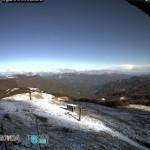 Sul Monte Bue il termometro è sceso a -2.9°