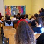 L'incontro che si è tenuto all'Istituto Liceti