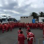 Lavagna invasa da 200 volontari della CRI